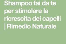 shampoo per ricrescita capelli