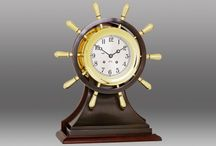 Ship's Wheel Clocks / Ship's Wheel Clocks for sale at BellClocks.com. These are all variations on the theme of the classic Ship's Wheel Clock. Chelsea Clock and Bey Berk International are our primary models at this time.
