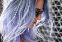 Färgade hår