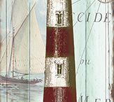 Faros y mar