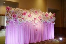 Wedding decor/flower decor