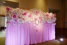 dekoracje kwiaty z papieru