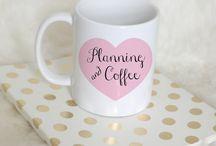 Planner Mugs / #planner Planner mugs #planneraddict #erincondren #katespade