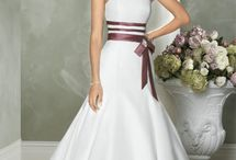 Wedding dresses - Brown