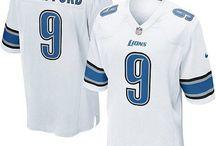 Matthew Stafford Nike Elite Jersey – Authentic Lions #9 Blue White Jersey