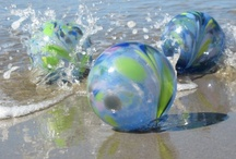 glass floating balls