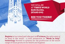 It's Tissue at Tissue World Barcelona. (Stand D90)