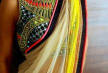 Mirror work saree / Beautiful mirror work saree. Bollywood replica. Contact us at kashmiracouture@gmail.com