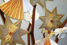 tvoření vánoc s dětmi
