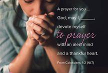 Prayers for myself