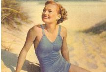 Vintage Beach Poses