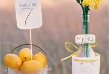 mariage - porte menu