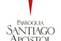 Buenos Aires - Parroquia Santiago Apóstol / Desarrollo de identidad visual corporativa.