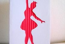 Ballerina Party, Ballerina Decor, Ballerina Supplies / ballerina items, ballerina them, ballerina party, ballet theme, ballet nursery, felt ballerina
