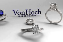 VON HOCH Jewelry Designs / JWO Jewelers very own brand is called Von Hoch Designs! There is a variety of designs available. Check out our website. www.jwojewelers.com 770-552-9235