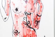 """Pesti barokk / Dés Mihály """"Pesti barokk"""" (2013) c. regényéhez készült illusztrációk, melyet fia, Dés Marci készített a könyv fb-oldalára: https://www.facebook.com/pestibarokk?fref=ts"""