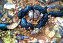 Gastronomía/Gastronomy / Aquí encontrareis los platos autóctonos de la zona. Typical food from Costa Blanca