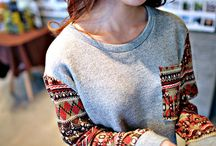 Sweater Weather / Chilly days? No problem! Fun sweaters for the whole winter. / by Panda L