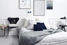 Bedroom make-over / Inspiratie voor mijn nieuwe slaapkamer.