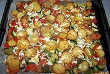 zelenina pečená