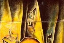 HANS movie inspirations / Quelques films expressionnistes allemands qui m'ont inspiré pour l'écriture et la création de l'univers de Hans et les deux affiches du film.