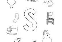 Letters kleuters