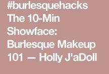 burlesque + pin-up