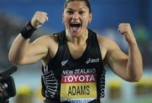 Athletes I admire / by Chrissie Sullivan