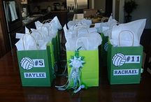 Cheer goody bag project / by Lesley Del Vecchio