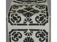 Garden Collection / Block printed textiles with a garden influence