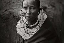 Masai typology / The Masai typology is an open-ended project targeted to record a collective portrait of the Masai inhabitants of East Africa.