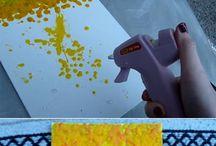 цветной термоклей