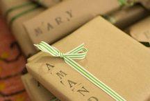 Regalos / Como hacer regalos