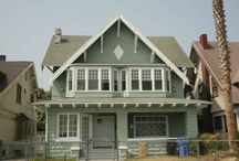 Building a house: Exterior ideas / We're re-building the house we lost in a tornado last spring and love the idea of a Craftsman-style home. There are just so many great looks out there that it really helps to move them into one spot!