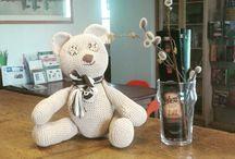 teddy bear / Ecco il mio orsetto...tutto realizzato all'uncinetto!