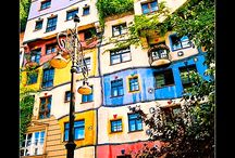 Art & Nature / I love art, nature and the juxtaposition of both. My favorite artist: Gaudi and Hundertwasser