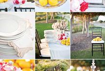 Yellow Wedding Colour Theme / Wedding Colour Inspirations with Yellow Tones, incl Sunflower yellow, buttercup