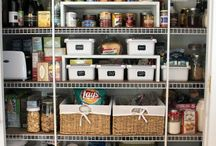 Pantry organization, Storage