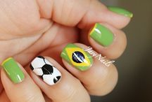 World Cup Fever / Some of our favorite World Cup nail designs