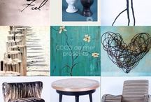 COCO's moodboards, collages and drawings / Moodboards, collages and drawings of COCO de mer Interior -Benahavis- Marbella