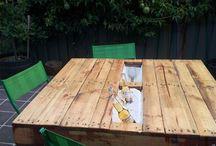Table d'extérieur