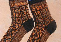 Sanquhar knitting