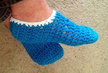 Knit or crochet ~ feet