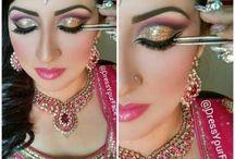 Indian Gold Eye Makeup