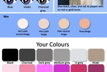 Color my Beauty / What colors look good on me.