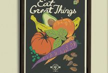 Home Poster Collection / New retro posters from the Victory Garden of Tomorrow