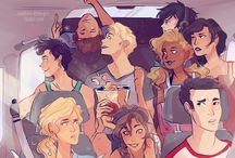 Percy Jackson / All the half-bloods here!