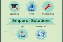 Emperor Solutions / Emperor Solutions providing all kinds of application software and web based solutions to clients in various market verticals. We offers a range of software for Education, Hotel, Restaurant, and Finance.