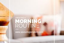 Learning to love mornings.