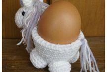 Eierbecher Einhorn